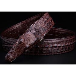 Thắt lưng Vân Cá Sấu dập nổi -  Lịch Lãm, Sang Trọng