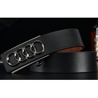 Thắt lưng da Cao cấp - Logo Audi
