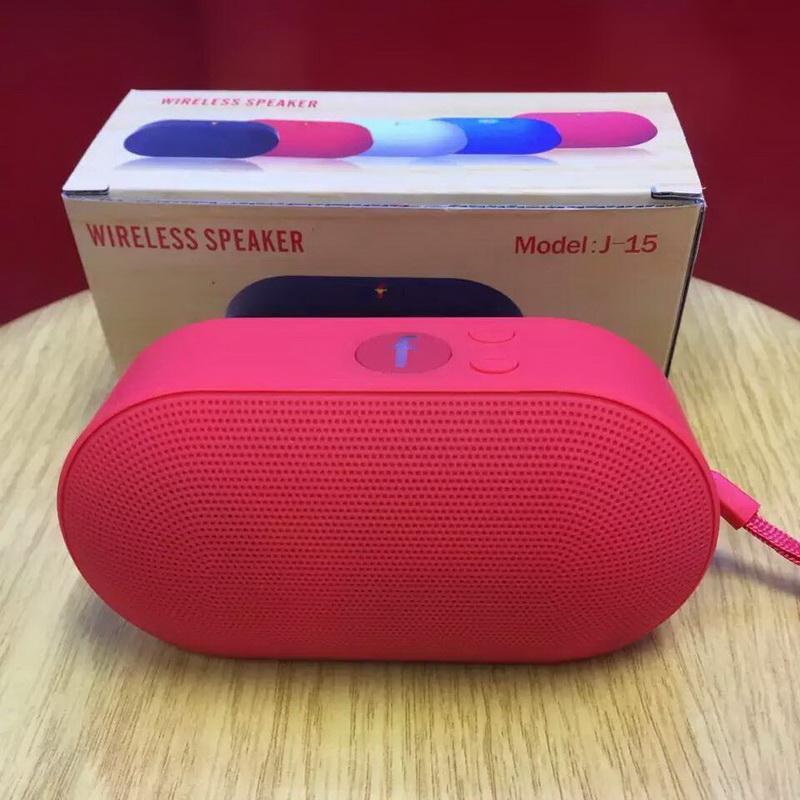 Loa Bluetooth, Đọc Thẻ Và USB, FM J-15 Siêu Rẻ 7