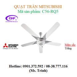 Quạt trần Misubishi C56-RQ5 thiết kế sang trọng - giá cả phải chăng