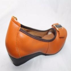 Giày đế xuồng da đẹp-Chất lượng cho chị em