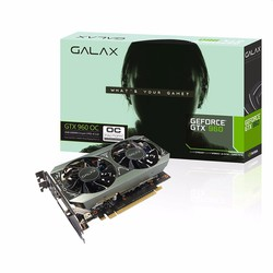 Card màn hình Galax GTX 960 OC 2GB