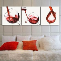 Tranh treo tường rượu vang