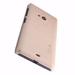 Ốp lưng Lumia 535 - Nillkin-Case-Nâu-Lumia-535