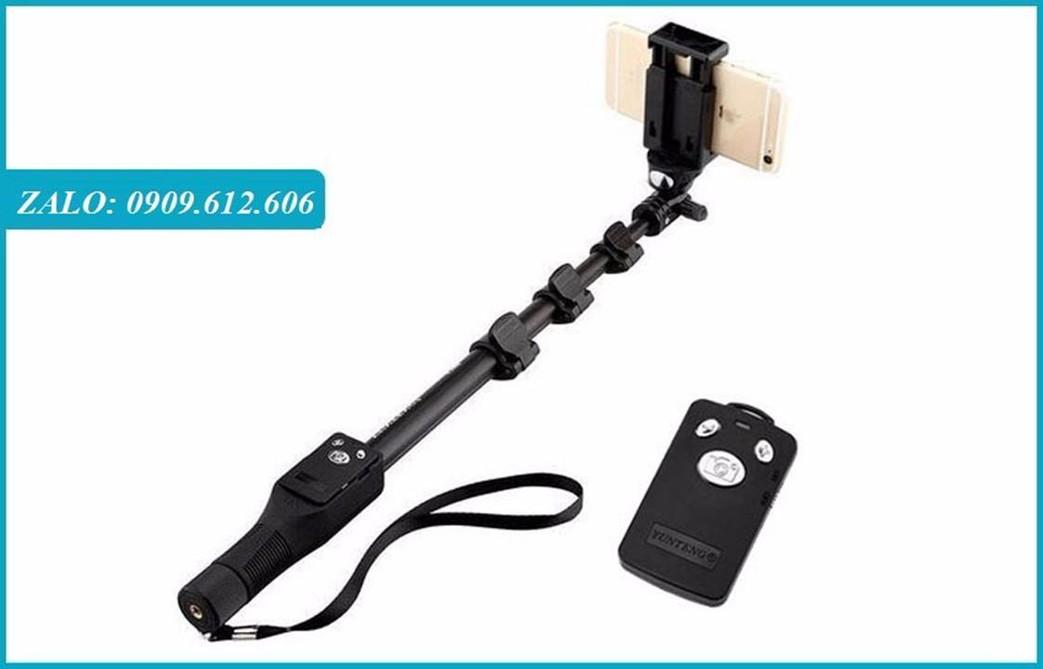 Gậy Chụp Hình YunTeng Bluetooth có remote sạc điện usb -1,25m 9