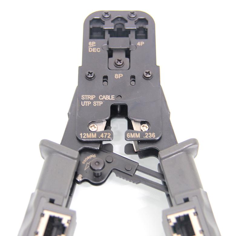 Kìm mạng đa năng RJ45, RJ11, RJ12 + Chức năng test dây mạng HT-022 8