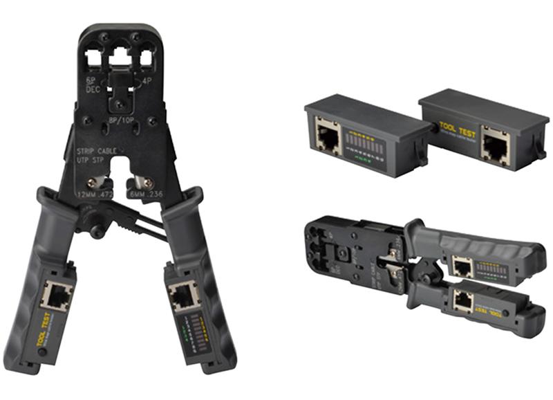 Kìm mạng đa năng RJ45, RJ11, RJ12 + Chức năng test dây mạng HT-022 1