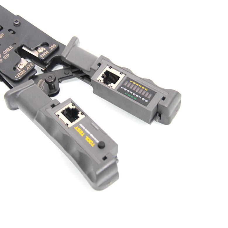 Kìm mạng đa năng RJ45, RJ11, RJ12 + Chức năng test dây mạng HT-022 6