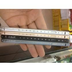 Viền iphone5-5S đính đá G-blue