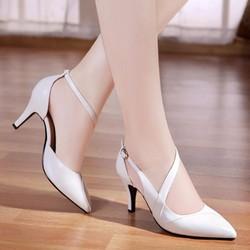 Giày cao gót quai xoắn thời trang - LN200