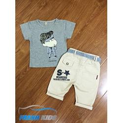 Bộ quần áo thời trang cho bé trai