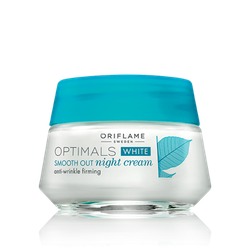 Kem Dưỡng da ORIFLAME 26647 Optimals White Smooth Out Night [Veranera]