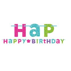 Dây Chữ Sinh Nhật Kim Tuyến, trang trí sinh nhật, dây chữ