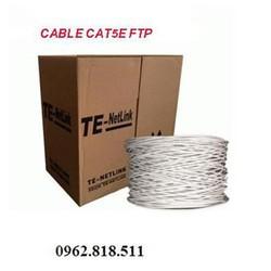 Cáp mạng Cat 5E – FTP 0915 Bọc bạc chống nhiễu. giá rẻ nhất thị trường