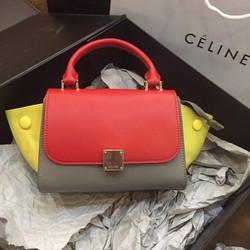 Túi xách Céline pha màu 2016