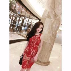 Đầm Ren Yếm- Mẫu Mới Đang Hot Cực Sang