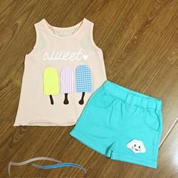 Bộ quần áo mùa hè cho bé 2016