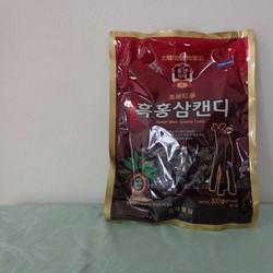 Kẹo cứng hắc sâm Hàn quốc gói 300gr