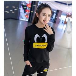 quần áo bộ pancoat Mã: AA555 - ĐEN