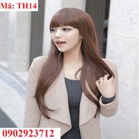Tóc Giả Nữ Hàn Quốc Tặng Lưới - TH14