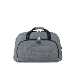 Túi xách du lịch vải bố màu xám