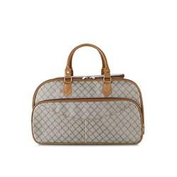 Túi xách du lịch vải bố vân hoa văn