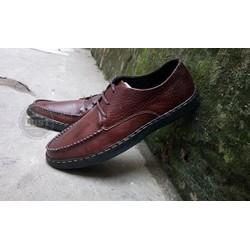 Giày da bò buộc dây thời trang