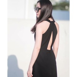 Đầm xoè cut out