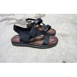 Sandal da bò nam dép quai hậu