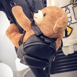 ba lô gấu cực xinh