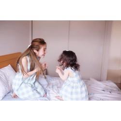 Set Đầm Caro Mẹ và Bé Cadie Siêu Dễ Thương
