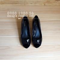Giày gót vuông Universe 0627
