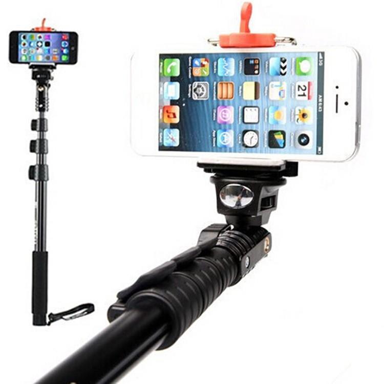 Gậy Chụp Hình YunTeng tự vệ Bluetooth có remote-dài 1m25 4