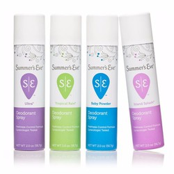 Xịt Khử Mùi Vùng Kín Summer Eve Deodorant Spray