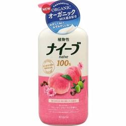 Sữa tắm Naive lá đào Nhật Bản 550ml