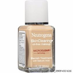 Kem nền Neutrogena SkinClearing Oil Free