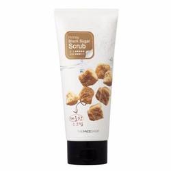 Tẩy da chết đường đen mật ong – Honey Black Sugar The Face Shop