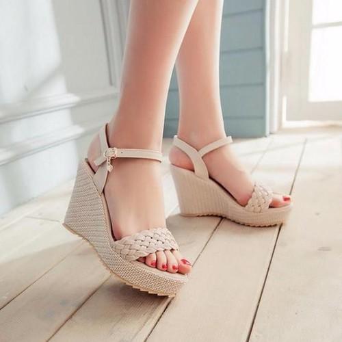 Giày sandal đế xuồng tết sam Hàng đẹp - 3920395 , 3047563 , 15_3047563 , 415000 , Giay-sandal-de-xuong-tet-sam-Hang-dep-15_3047563 , sendo.vn , Giày sandal đế xuồng tết sam Hàng đẹp