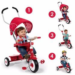 Xe đạp trẻ em Radio Flyer 4 in 1 RFR 811
