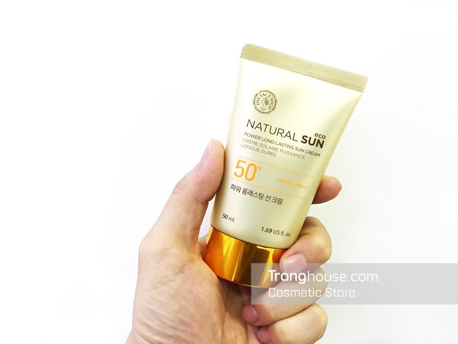 Kem Chống Nắng Không Trôi The Face Shop Power Long Lasting Sun Cream 2