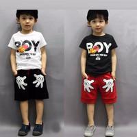 Bộ cotton cho bé trai từ 2-7 tuổi V318