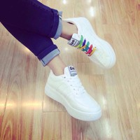 giày bata nữ 3 sọc