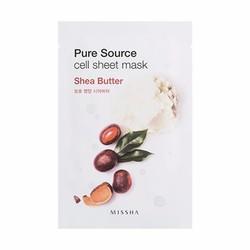 Bộ 2 Mặt nạ giấy Missha Pure Source Cell Sheet Shea Butter 21g