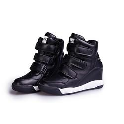 Giày Sneakers Da Độn Đế Giày Thể Thao G029-D