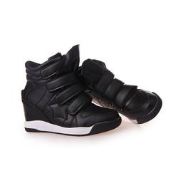 Giày Sneakers Da Độn Đế Giày Thể Thao G028-D 39