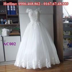 Áo cưới tinh khôi AC002