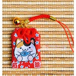 Bùa may mắn mèo thần tài Maneki Neko - 00149