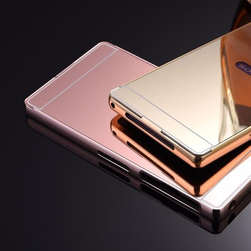 Sony Xperia M5 - Ốp lưng viền kim loại nắp nhựa tráng gương - 3921068 , 3056028 , 15_3056028 , 98000 , Sony-Xperia-M5-Op-lung-vien-kim-loai-nap-nhua-trang-guong-15_3056028 , sendo.vn , Sony Xperia M5 - Ốp lưng viền kim loại nắp nhựa tráng gương