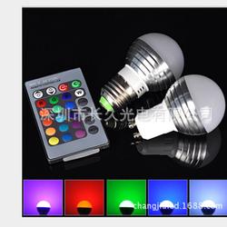 Bóng đèn LED đổi màu có điều khiển từ xa RGBLED-10