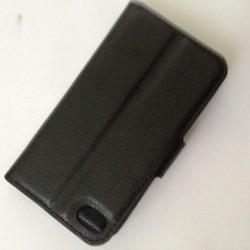 APPLE IPHONE 4, 4S - Bao da ví PU có khe để thẻ ATM cho điện thoại